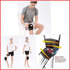 Bracoo Knee Support, Open-Patella Stabiliser, Adjustable Brace, Neoprene Sleeve
