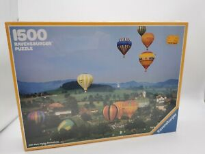 1987 Vintage Ravensburger 1500 Piece Jigsaw Puzzle Made In West Germany - New