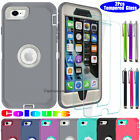 Heavy Duty Shockproof Rugged For iPhone SE 2020 Case Cover with Screen Protector