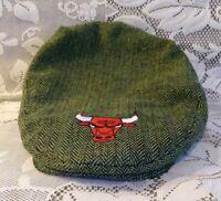 Chicago Bulls Bud Light Newsboy Newsy Cap St. Patricks Day SGA RARE Collectible