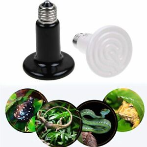 75W E27 Infrared Ceramic Heat Emitter Reptile Heat Lamp Bulb for Lizard Snake