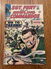 Sgt. Fury and his Howling Commandos  #49 Dec 1967 Marvel Comics Book Silver age