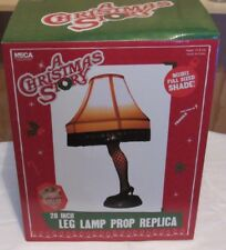A Christmas Story Lot 20 inch Leg Lamp, Glasses,Tumblers Limited/Collectible NIB