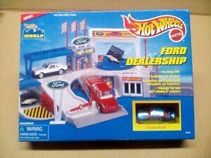 Hot Wheels Ford Dealership Unopened Box