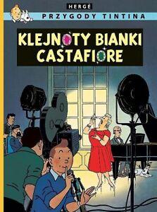 Tintin - Les bijoux de la Castafiore en POLONAIS Egmont 2015 NEUF!