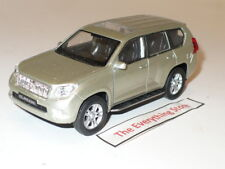 WELLY TOYOTA LAND CRUISER PRADO 4.5 INCHES LONG METALLIC SILVER FREE SHIP