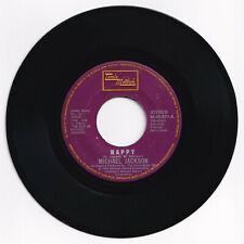 Philippines MICHAEL JACKSON Happy 45 rpm Record