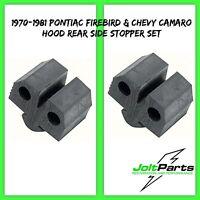 OER Hood Rear Stopper Set 1970-1981 Pontiac Firebird  and Chevrolet Camaro