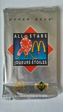 1992-93 UD Upper Deck McDonalds Hockey Pack Unopened Discount On Muliptles /Box