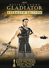 Gladiator - Extended Edition (Three-Disc Extended Edition), Good DVD, Russell Cr