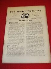 MODEL ENGINEER - Aug 25 1938 Vol 79 # 1946