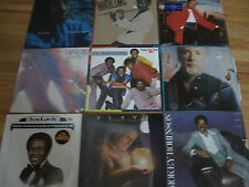 OLD LOT OF 9 33 1/3 VINYL ALBUMS - SADE, SMOKEY, THE TEMPTATIONS & MUCH MORE A5