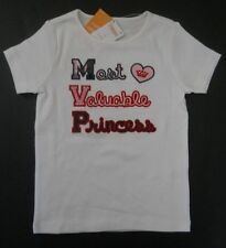 NWT Gymboree Homecoming Kitty Most Valuable Princess Shirt 5 5T Ivory Top Tee