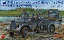 Bronco 1/35 Alemán Horch Bastón coche (kfz.15) Primeras Versiones #cb35175