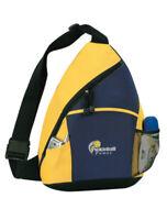 Pickleball Marketplace - Sling Bag - Carry Pickleball Paddles - Blk/Navy/Yellow
