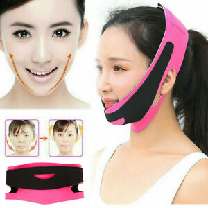 Women Reduce Double Chin Anti-wrinkle Face Slimming Bandage Facial Lift  Belt.