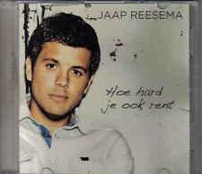 Jaap Reesema-Hoe Hard Je Ook Rent Promo cd single