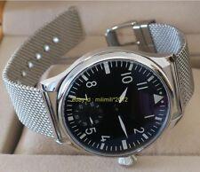 PARNIS 44mm pilot ST3620 movement Men's watch without logo