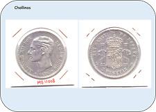 5 PESETAS ALFONSO XII   AÑO 1878 *18*78  DE.M  ( MBC- ) ( MB11008 )