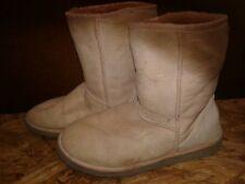 UGG Australia  Tan Sheepskin Suede Boots Women's Size 8