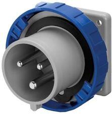 250V trailing IP67 2P E Bleu monophas/é connecteur /étanche 63 A 3 broches 63 A 220 V