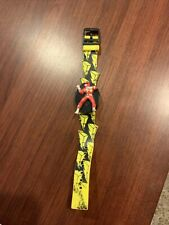vintage 1993 Gordy Time Mighty Morphin Power Rangers RED RANGER time LCD WATCH