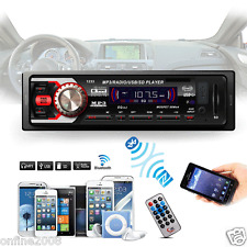 Car In-Dash Stereo Audio Receiver SD USB MP3 Music Player Radio Aux FM Input