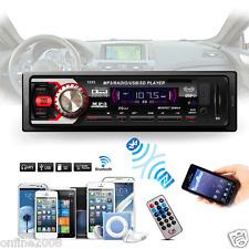 Car In-Dash Stereo Audio Receiver SD USB MP3 Music Player Radio Aux FM Input