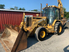 1995 John Deere 710d Tractor Loader Backhoe With Cab Amp Breaker Attachment Cheap