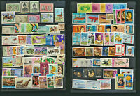 British Colonial Mint NH Collection 100 Different Colorful Topical Stamps Lot519