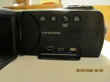 New listing Samsung Hmx-F80 High Definition Flash Media Camcorder With Charger & Case