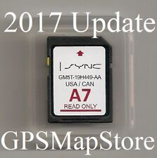 2011 to 2015 Ford Edge Explorer Lincoln MKX GPS Navigation SD card US Canada Map