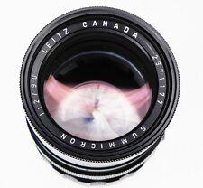 Leica Black 90mm f2 Summicron M mount   #2371177