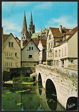 AD3986 France - Chartres - Les bords de l'Eure et le pont Bouiu