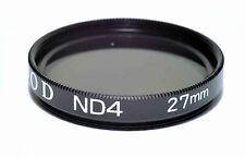 Kood ND4 2 stop Neautral density filter Made in Japan 27mm