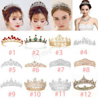 Crystal Tiara Wedding Bridal Pageant Party Princess Headband Crown Headpiece !