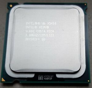Intel Xeon X5450 4x 3GHz 3,6GHz OC,120W wie Core2 Quad Q9650, LGA 775 mod +BIOS