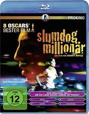 SLUMDOG MILLIONÄR (Dev Patel, Freida Pinto) Blu-ray Disc NEU+OVP
