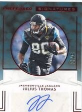 2016 PANINI PREFERRED SIGNATURES AUTO JAGUARS JULIUS THOMAS #26/49