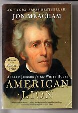 """2008 """"AMERICAN LION"""" - with ANDREW JACKSON ( from Nashville ) in the White House"""