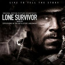 Lone Survivor - O.S.T. - Steve Explosions In The Sky & Jablonsk (2014, CD NIEUW)