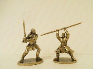 Star Wars bronze metall collectible miniature figure 40mm