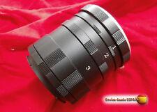 TUBO MACRO NIKON D7200 D5500 CANON 1100D 700D OLYMPUS E620 E520 450