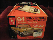 Rare Collector MIB1st Orig Issue 1964 Buick WILDCAT 3in1 Model/Kit 6514 AMT USA!