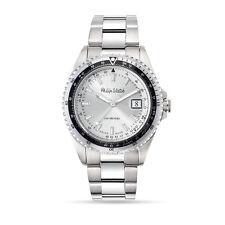 Orologio Philip Watch caribe r8253597021 uomo watch SWISS silver sportivo 42mm