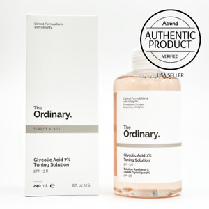 The Ordinary Glycolic Acid 7% Toning Resurfacing Solution [Authentic US Seller]
