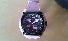 Nuevo - Reloj Watch CP5 Sport - Aluminum Case - Quartz - Black & Pink - Size L