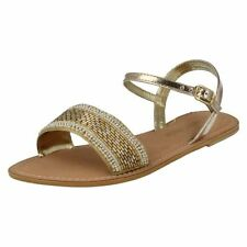 Casual Textured Textile Sandals & Beach Shoes for Women