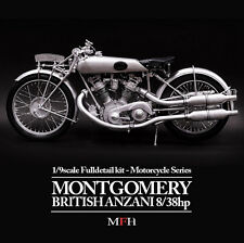 Model Factory Hiro 1/9 Full Detail kit - Montgomery British Anzani 8/38h.p