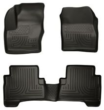 Husky 99741 Weatherbeater Front & Rear Floor Mats 2013-2016 Ford Escape C-Max